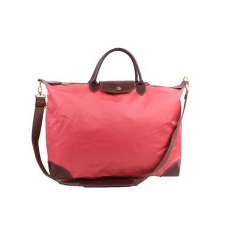 Cestovní tašky Longchamp Le Pliage růžové