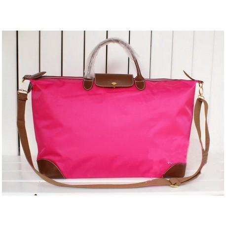 Cestovní tašky Longchamp Le Pliage Rose