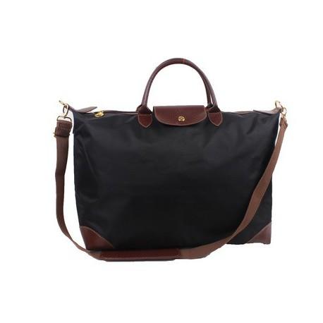 Torby podróżne Longchamp Le Pliage czarne