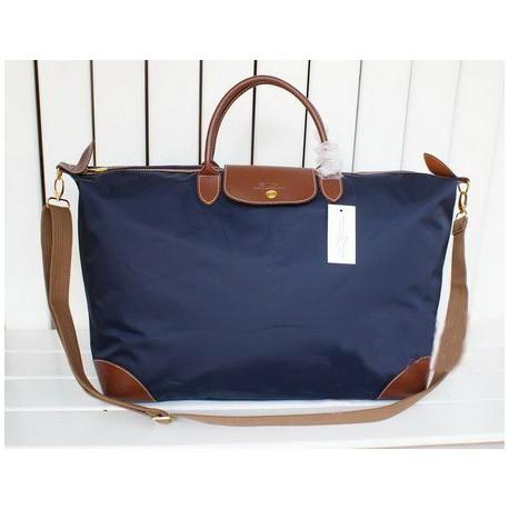 Longchamp Le Pliage Travel Bags Navy