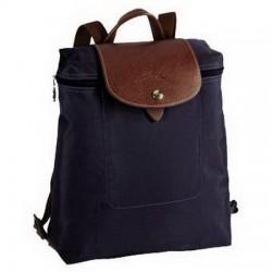 Longchamp - Le Pliage - Rucksack mit Reißverschluss in Marine