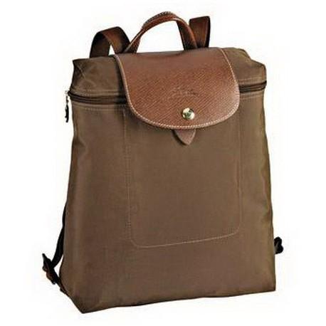 Plecak plecakowy Longchamp Le Pliage Taupe