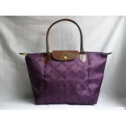Longchamp Jacquard Taschen Lila