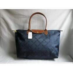 Longchamp Jacquard Tašky Royal Modrý