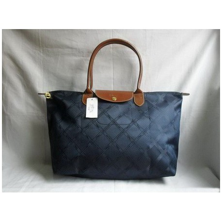 Longchamp Jacquard Taschen Royal Blau