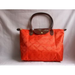 Longchamp Jacquard tašky oranžová