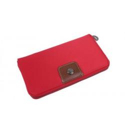 Longchamp Le Pliage Portmonetka Czerwony