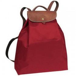 Longchamp Le Pliage Sac à dos rouge