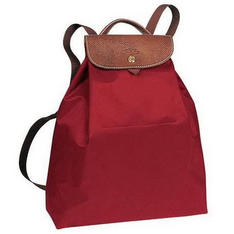Plecak Longchamp Le Pliage Czerwony