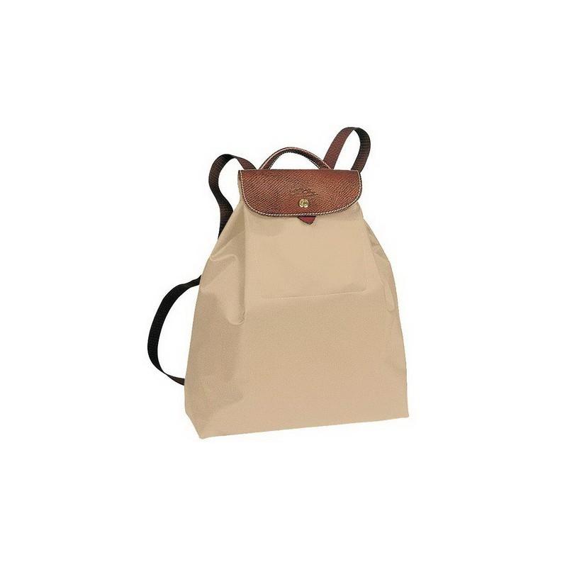 Longchamp Le Pliage Sac à dos Beige