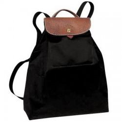 Longchamp Le Pliage Backpack Bags Black