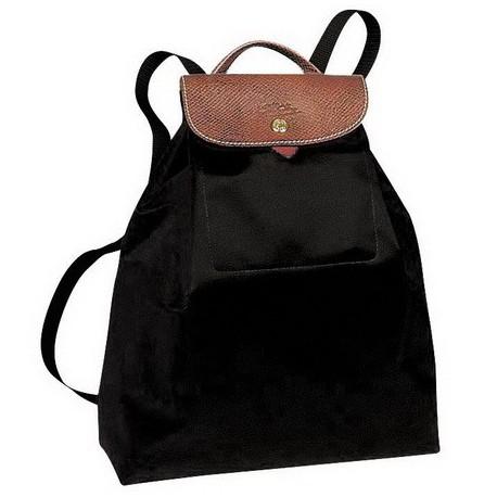 Schlussverkauf Niedriger Verkaufspreis Weltweit Versandkostenfrei Longchamp Le Pliage Rucksack Taschen Schwarz