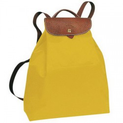 0480c24f2d Longchamp Le Pliage Batoh žlutý